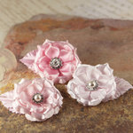 Prima - Miss Kate Collection - Fabric Flower Embellishments - Petal Pink