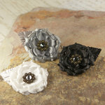 Prima - Miss Kate Collection - Fabric Flower Embellishments - Night Light