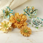 Prima - Jardinere Collection - Mulberry Flower Embellishments - Alla Prima