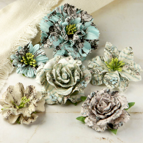 Prima - Jardinere Collection - Mulberry Flower Embellishments - Pixie Glen