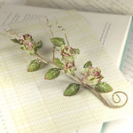 Prima - Bretton Vines Collection - Flower Embellishments - Alyssa