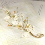 Prima - Bretton Vines Collection - Flower Embellishments - Parchment
