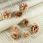 Prima - Gillian Collection - Flower Embellishments - Coffee