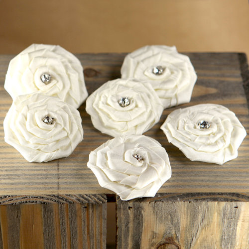 Prima - Allure Collection - Fabric Flower Embellishments - Aurora