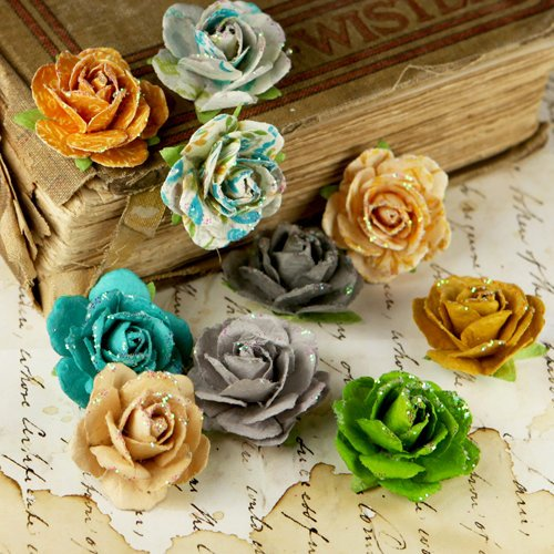 Prima - Coventry Rose Collection - Flower Embellishments - Alla Prima