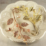 Prima - Medley Collection - Vine Embellishments - Midas