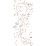 Prima - Say It In Pearls Collection - Self Adhesive Jewel Art - Bling - Songbird - Mix 1