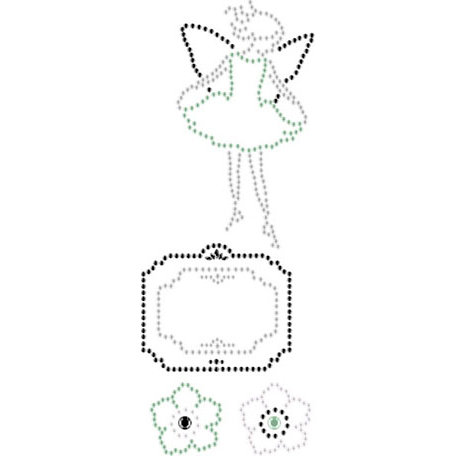 Prima - Say It In Crystals Collection - Self Adhesive Jewel Art - Bling - Nature Garden - Mix 2