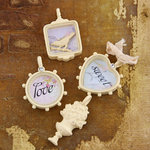 Prima - Meadow Lark Collection - Trinkets - Metal Embellishments