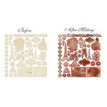Prima - En Francais Collection - Resist Canvas - Vacation Shapes
