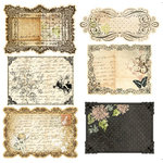 Prima - Nature Garden Collection - Journaling Notecards