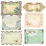 Prima - Fairy Belle Collection - Journaling Notecards in a Box