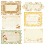 Prima - Songbird Collection - Journaling Notecards