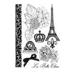 Prima - En Francais Collection - Cling Mounted Rubber Stamps