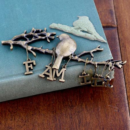 Prima - Trinkets - Metal Embellishments - Family