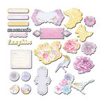 Prima - Meadow Lark Collection - Chipboard Pieces