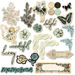 Prima - Nature Garden Collection - Chipboard Pieces