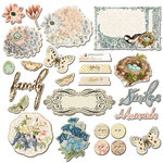 Prima - Fairy Belle Collection - Chipboard Pieces