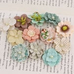 Prima - Perle Bebe Collection - Flower Embellishments - Fairy Belle