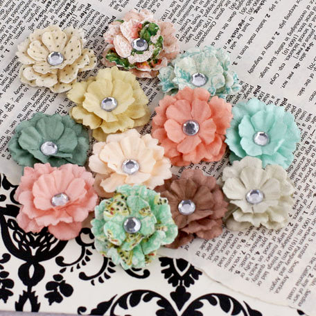 Prima - Melisse Collection - Flower Embellishments - Fairy Belle
