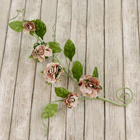 Prima - Pixie Vine Collection - Flower Embellishments - Fairy Belle