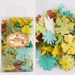 Prima - Essentials Petals Collection - Flower Embellishments - Sun Kiss