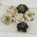 Prima - Vinetta Collection - Flower Embellishments - Nature Garden