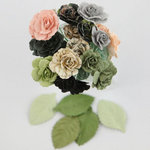 Prima - Charme Rose Collection - Flower Embellishments - Nature Garden