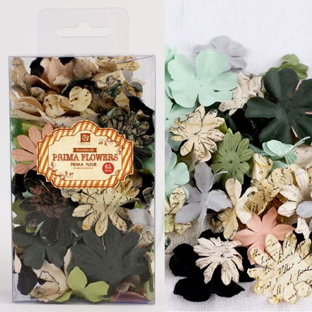 Prima - Essentials Petals Collection - Flower Embellishments - Nature Garden