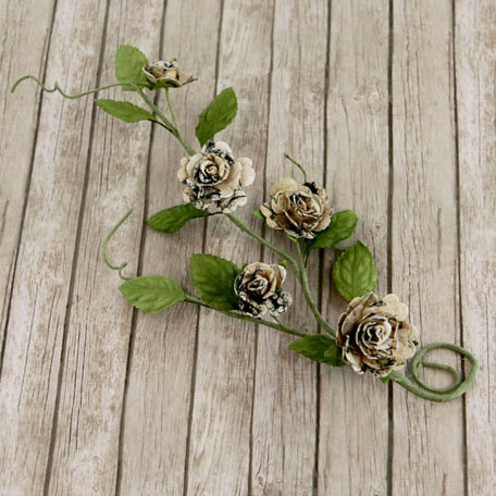 Prima - Pixie Vine Collection - Flower Embellishments - Nature Garden