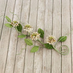 Prima - Button Vine Collection - Flower Embellishments - Nature Garden