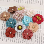 Prima - Perle Bebe Collection - Flower Embellishments - En Francais