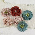 Prima - Vinetta Collection - Flower Embellishments - En Francais