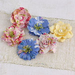 Prima - Vinetta Collection - Flower Embellishments - Meadow Lark