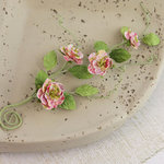 Prima - Millicent Collection - Vine Embellishments - Meadow Lark - Pink