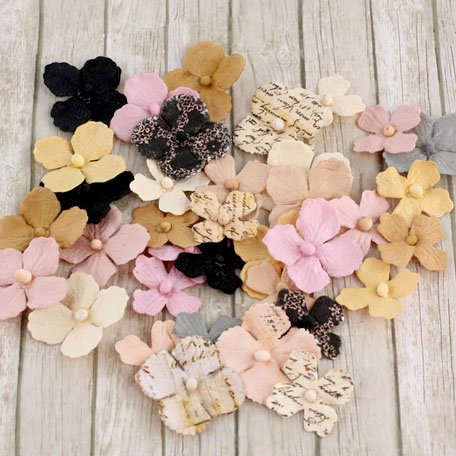 Prima - Camille Collection - Flower Embellishments - Almanac