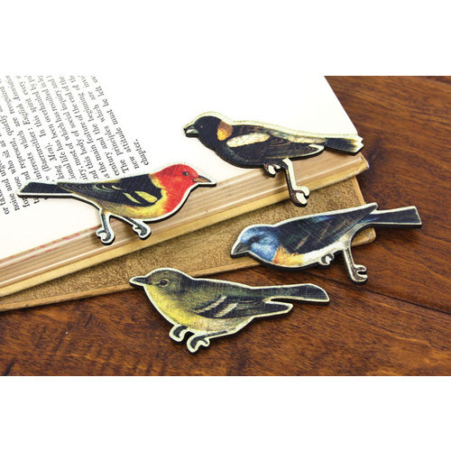 Prima - Wood Embellishments - Bird