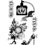 Prima - Cling Mounted Rubber Stamps - La Femme