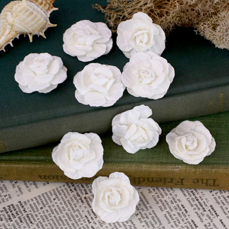 Prima - Tivona Collection - Flower Embellishments - Small - Rose