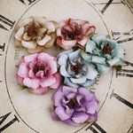 Prima - Parisa Collection - Flower Embellishments - Winston Mix