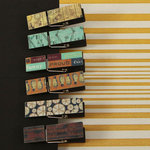 Prima - Craftsman Collection - Canvas Covered Wood Clips