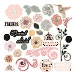 Prima - Rondelle Collection - Chipboard Pieces