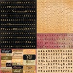 Prima - Romance Novel Collection - Cardstock Stickers - Tiny Alphabets