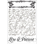 Prima - Tea-Thyme Collection - Cling Mounted Rubber Stamps