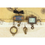Prima - Craftsman Collection - Trinkets - Metal Embellishments