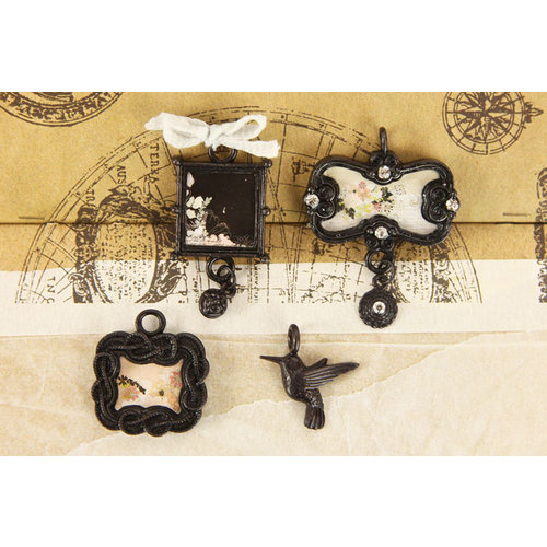 Prima - Rondelle Collection - Trinkets - Metal Embellishments