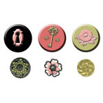 Prima - Tea-Thyme Collection - Cabochons and Buttons