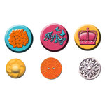 Prima - Zephyr Collection - Cabochons and Buttons