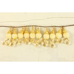 Prima - Tea-Thyme Collection - Bauble Trinkets - Velvet Embellishments