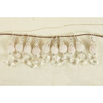 Prima - Zephyr Collection - Bauble Trinkets - Velvet Embellishments